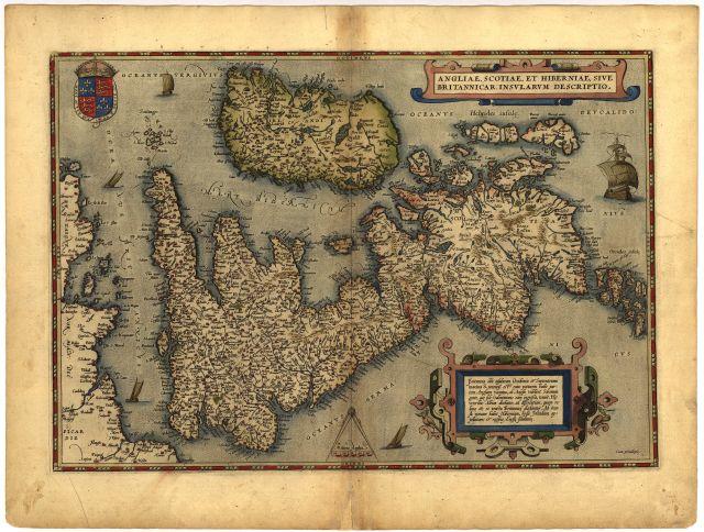 Англии шотландии и ирландии 1570 года