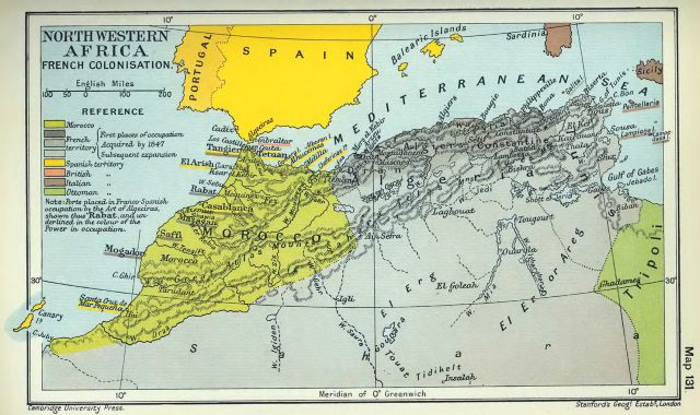 the colonization history of morocco History & geography taught in arabic colonial accounts mention a group of people collectively known as berbers living in morocco has the majority of.